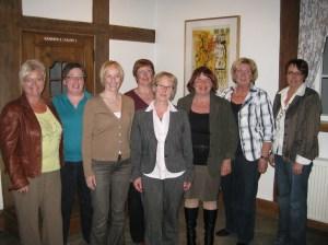 Frauenunion Samtgemeinde Spelle Vorstand 2010